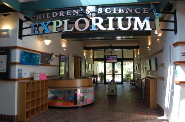Explorium Entrance