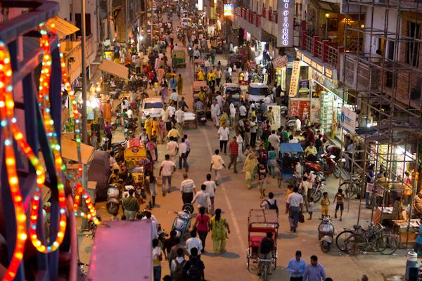 Main Bazaar in Delhi