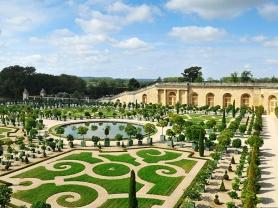 EXK9YP Chateau Versailles garden and park orangery Ile de france France Europe